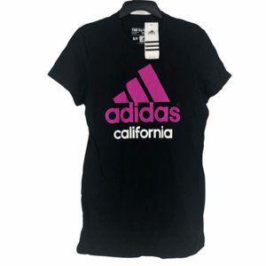 Adidas Womens California Crew Neck T Shirt Small
